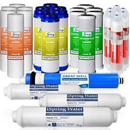 F28K75 3-Year Replacement Filter Set for 6-Stage Alkaline Reverse Osmosis Water Filter