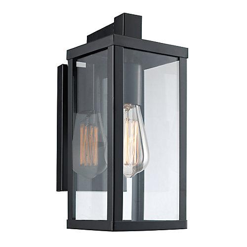 Oxford 1-Light Wall Lantern in Black