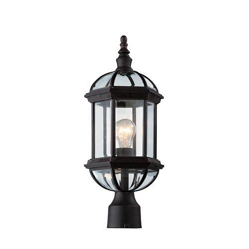 Wentworth 1 lumière fini rouille lanterne lampadaire