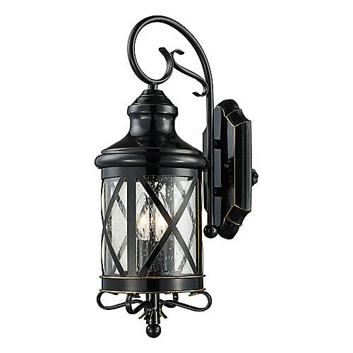 Chandler 2 lumières fini en bronze huilé poncé lanterne murale
