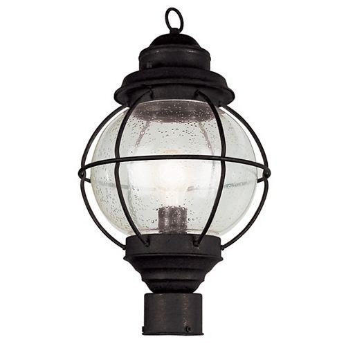 Bel Air Lighting Catalina 1 lumière fini noir lanterne lampadaire