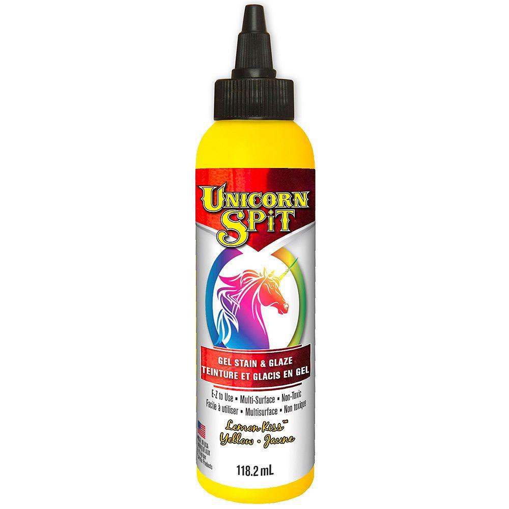 Unicorn SPiT Gel Stain & Glaze Lemon Kiss 118.2 mL F/E
