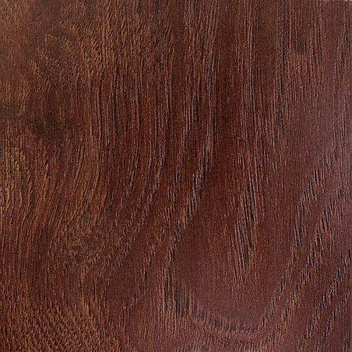 Warm Cinnamon Hickory 12mm Thick x 6.10-inch W x 47.64-inch L Laminate Flooring (Sample)
