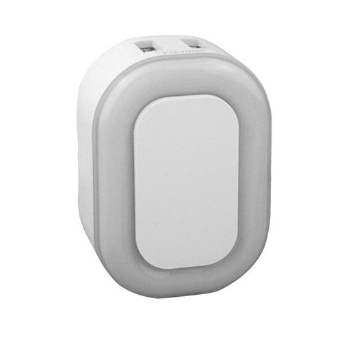 Atron LED Touch Nite Lite 3 level & 2 USB Ports