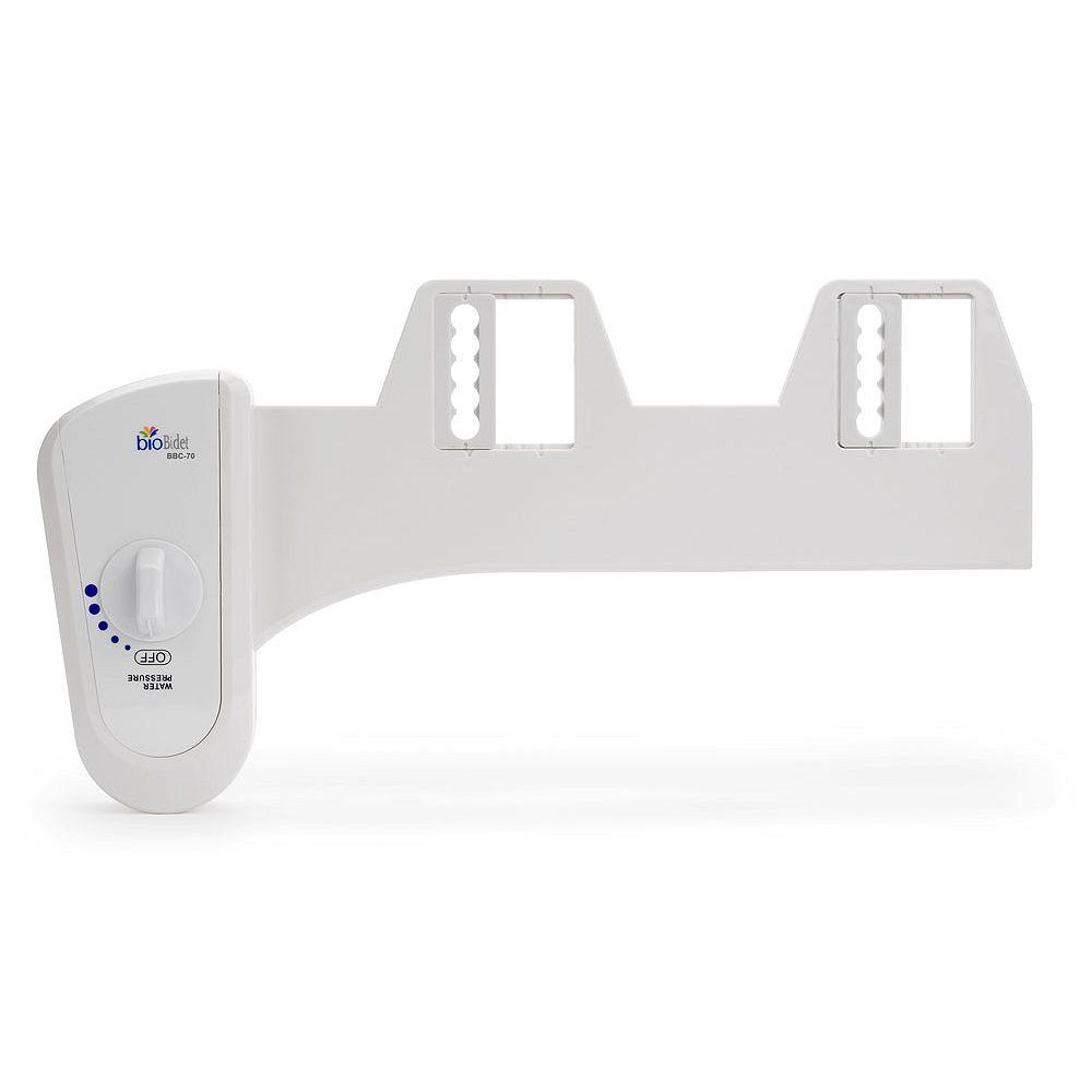 Bio Bidet Non-electric Attachable Bidet System for 2-Piece Toilets