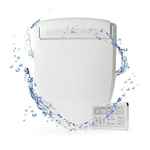 Bio Bidet Supreme BB-1000E Electric Bidet Seat for Elongated Toilets in White