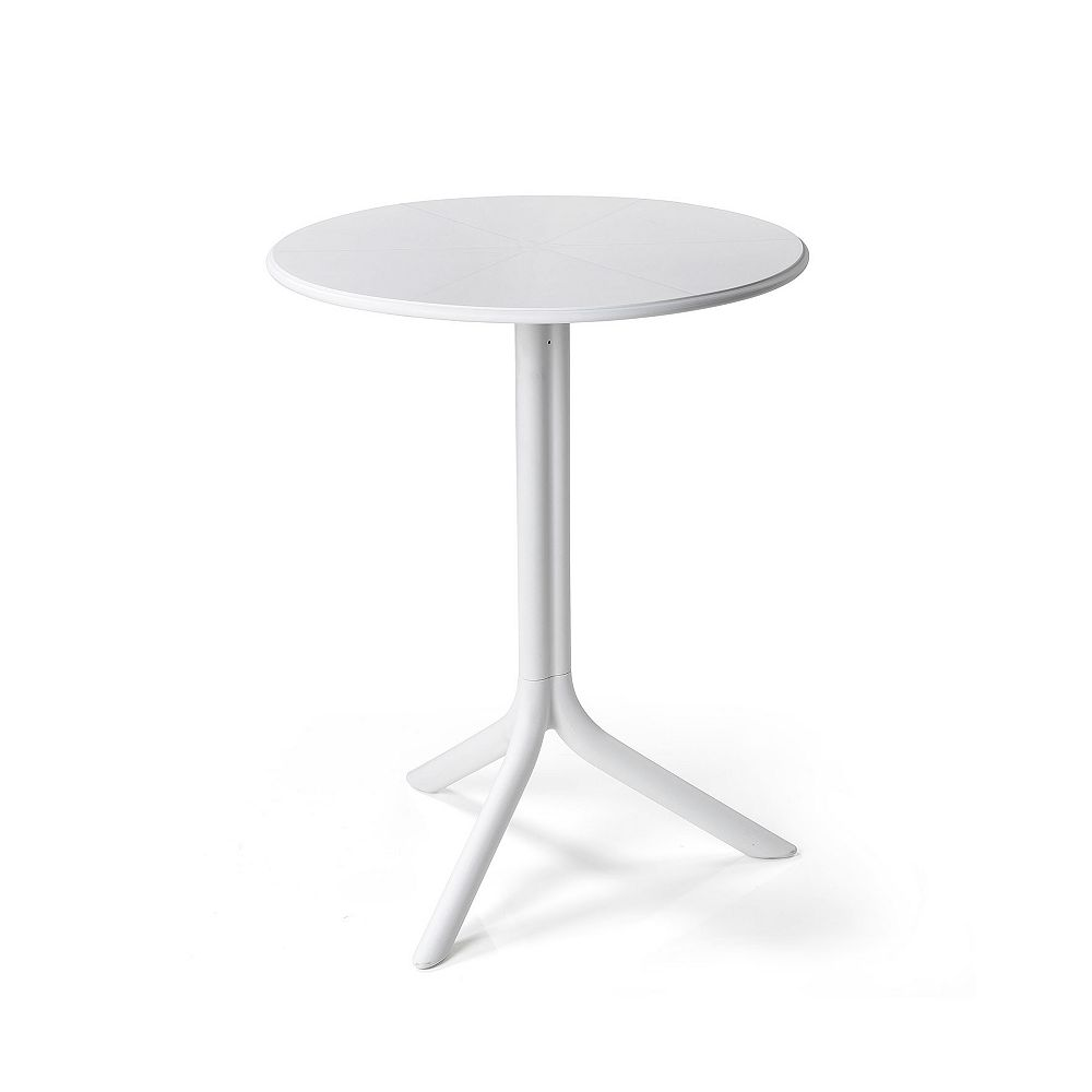 Nardi Spritz Outdoor Bistro Table with Two Bases - Bianco