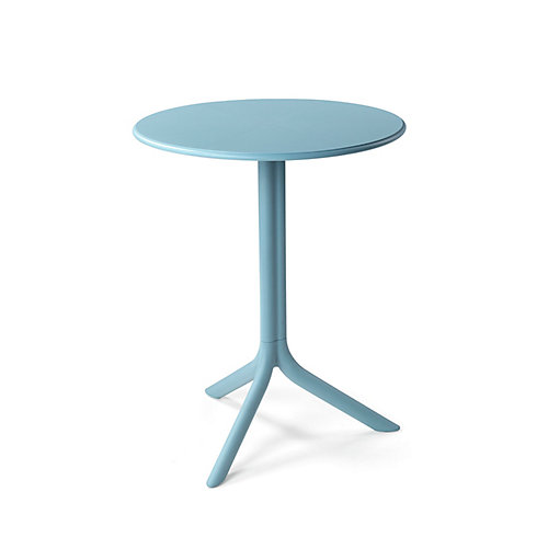 Spritz Table de bistrot en plein air à deux bases- Celeste