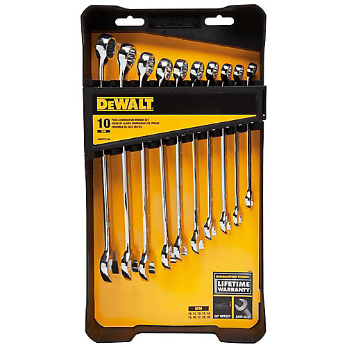 Metric Combination Wrench Set (10-Piece)