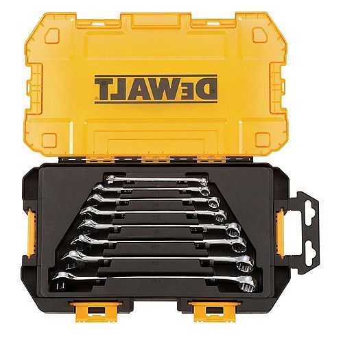 DEWALT SAE Combination Wrench Set (8-Piece)