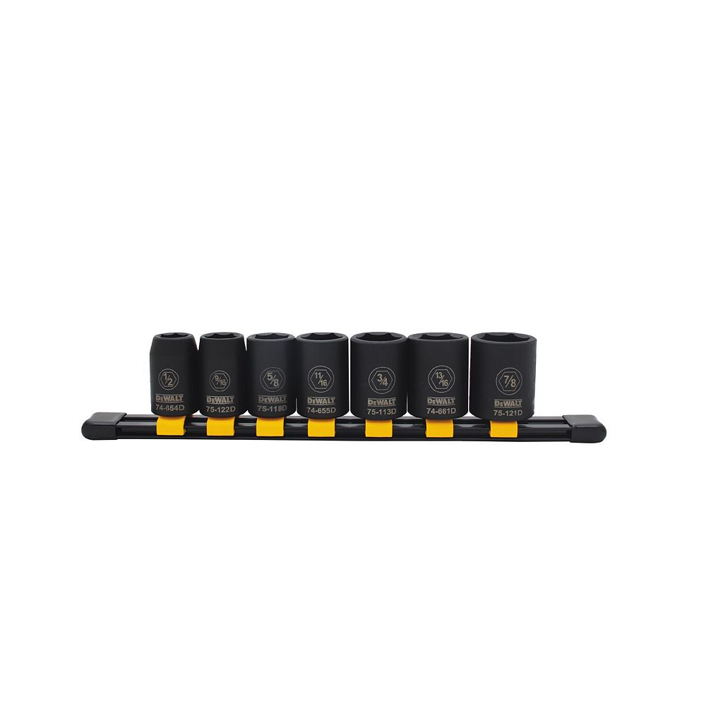 DEWALT Impact Socket Set (SAE) (7 Piece)