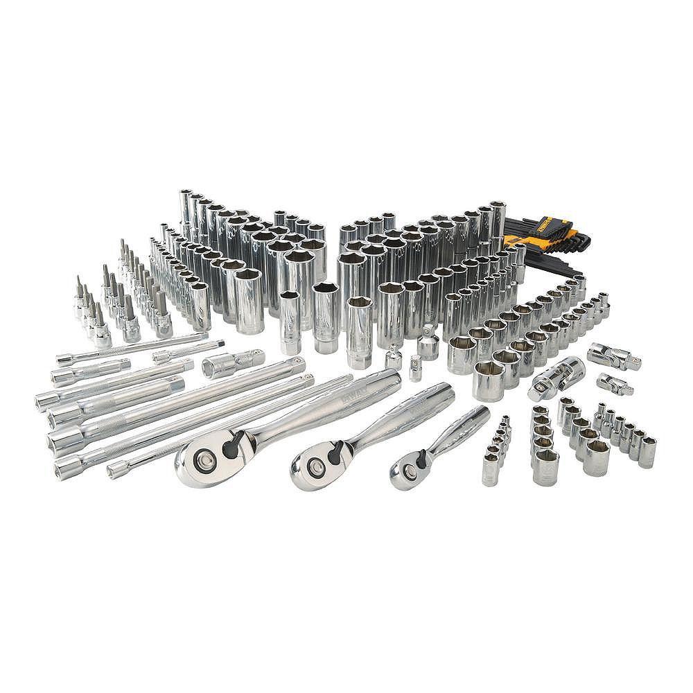Dewalt Chrome Vanadium Mechanics Tool Set (192-Piece) DWMT75049