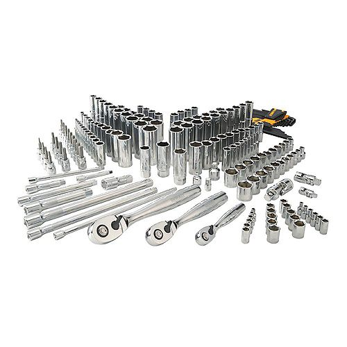 Chrome Vanadium Mechanics Tool Set (192-Piece)