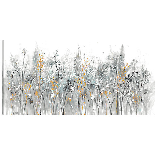 24X48 Floral, Printed canvas gallary wrapped wall art
