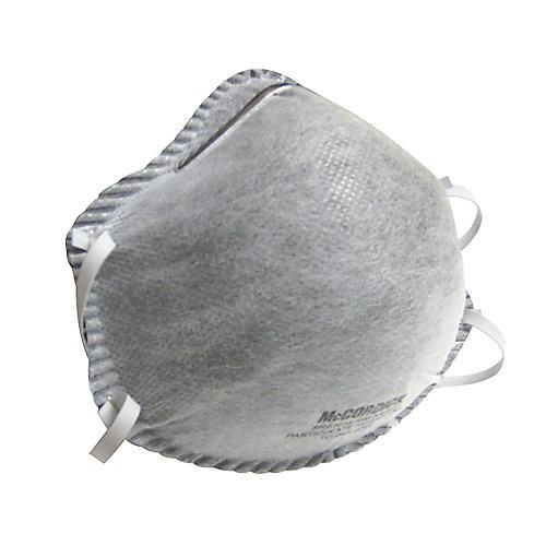 Masque filtrant R95 jetable avec filtre à charbon