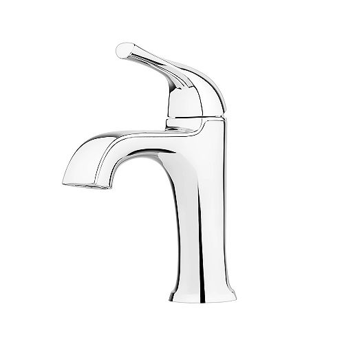 Ladera Single Control Lavatory Faucet in Polished Chrome