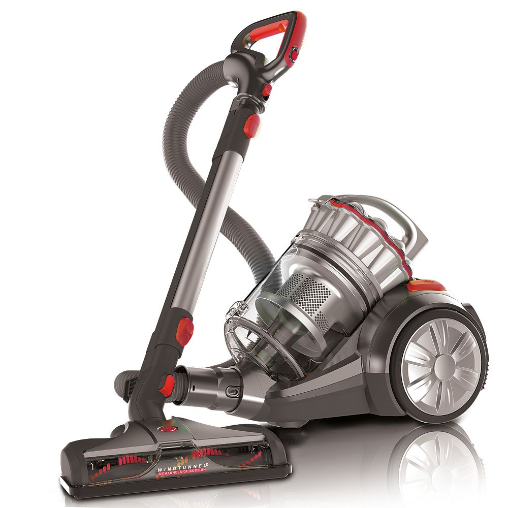 Hoover Pro Deluxe Bagless Canister Vacuum