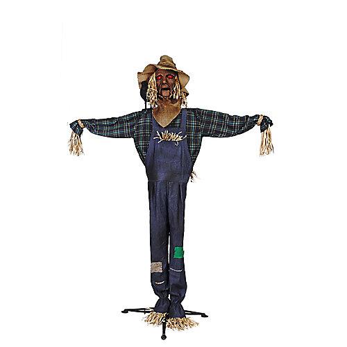 72-inch LED-Lit Animated Scarecrow Halloween Decoration