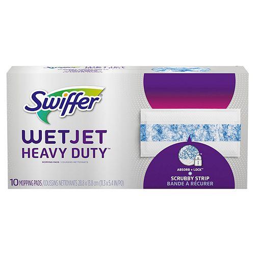 WetJet Heavy Duty Mopping Pads Refills (10-Pack)