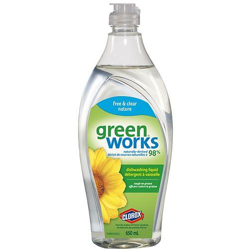 Détergent à vaisselle Green Works nature