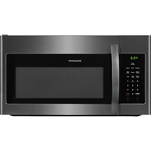 30-inch W 1.6 cu.ft. Over the Range Microwave in Black Stainless Steel