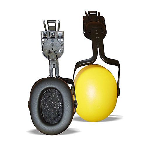 Coquille anti-bruit avec montage sur casque protecteur, NRR 23