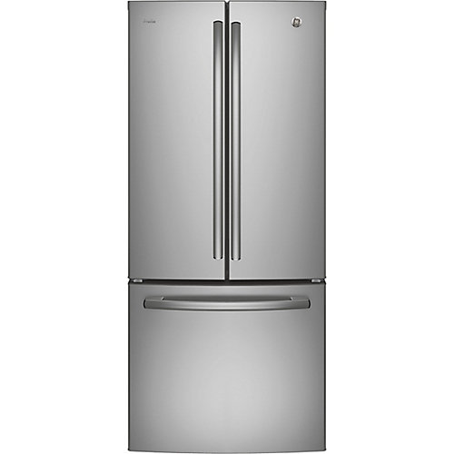 30-inch W 20.8 cu.ft. French Door Bottom-Mount Refrigerator in Stainless Steel