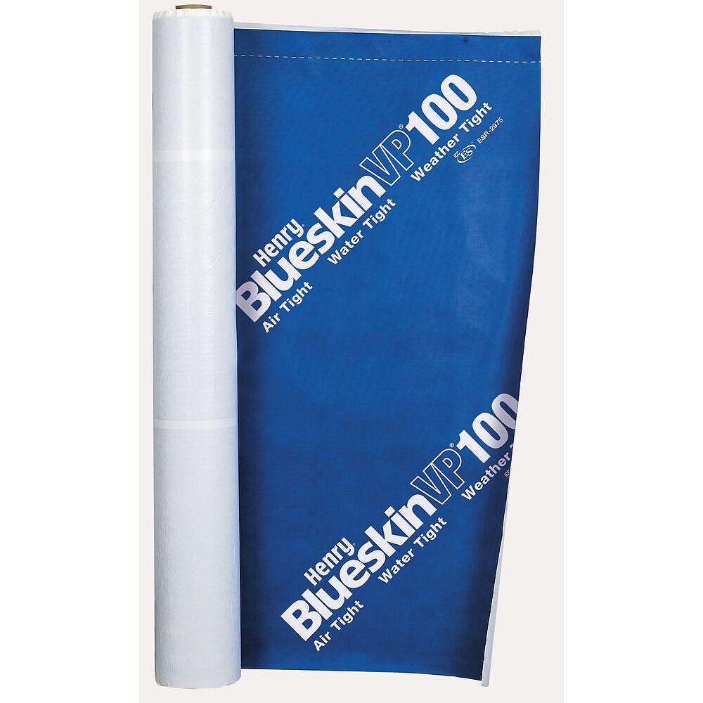 Henry Blueskin VP100 Self Adhered Water-Resistive Air Barrier Membrane