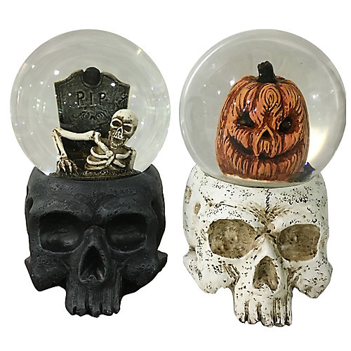 Water Globe Halloween Decoration (Assorted Styles)