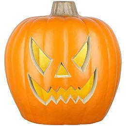 20-inch Blow Mold Jack-O-Lantern -Spooky Face