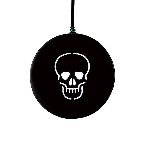 LED Projection Disk with Skull Pattern