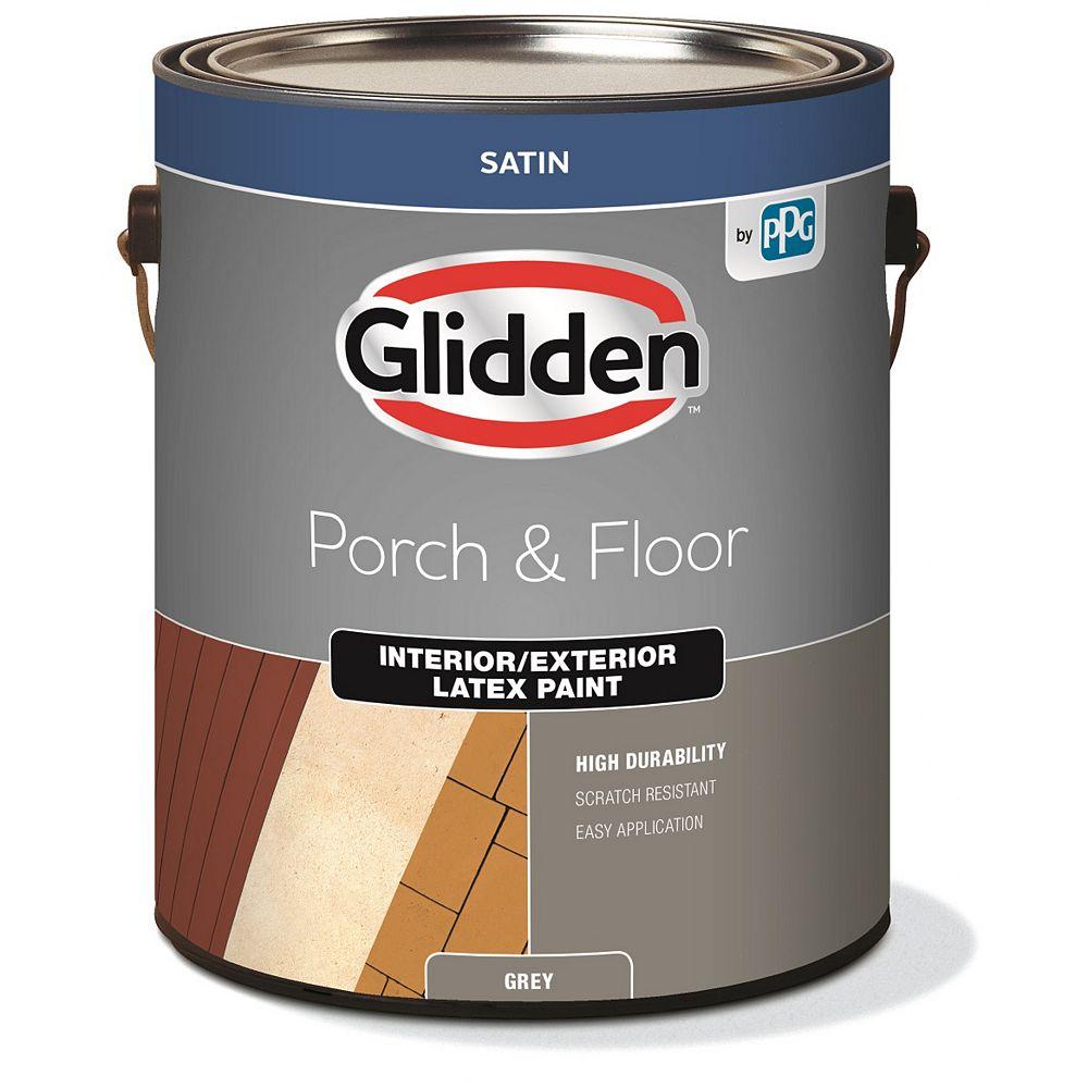 Glidden Planchers et galeries d'intérieur et  d'extérieur satiné - Gris 3,78 L