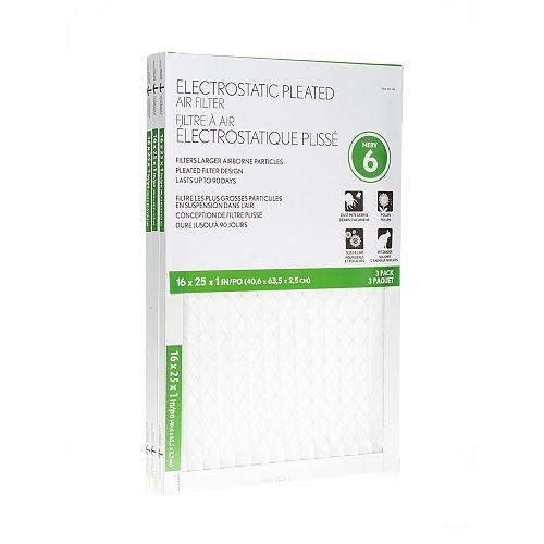 Basic Protection 16X25X1 Filter (12-Pack)
