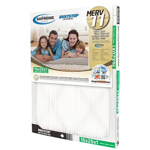 16x20x1 MERV 11 Supreme Filter (6-Pack)