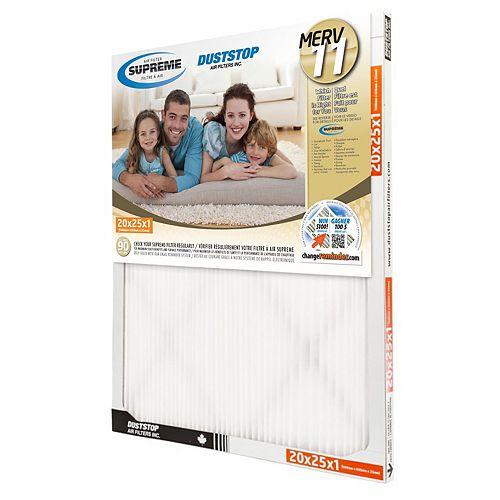 20x25x1 MERV 11 Supreme Filter (6-Pack)