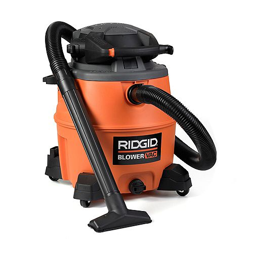 60 Litre (16 Gal.) 6.5 Peak HP Wet Dry Vacuum with Detachable Blower and Dust Bags