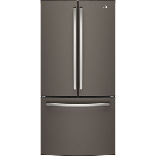 33-inch W 24.8 cu.ft. French Door Bottom-Mount Refrigerator - Slate