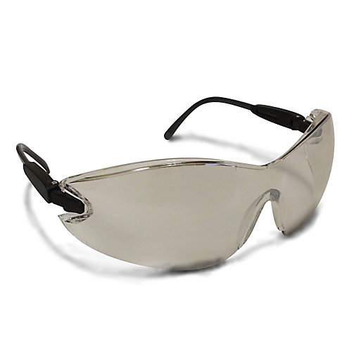 Indoor/Outdoor Safety Glasses with Frameless Lens