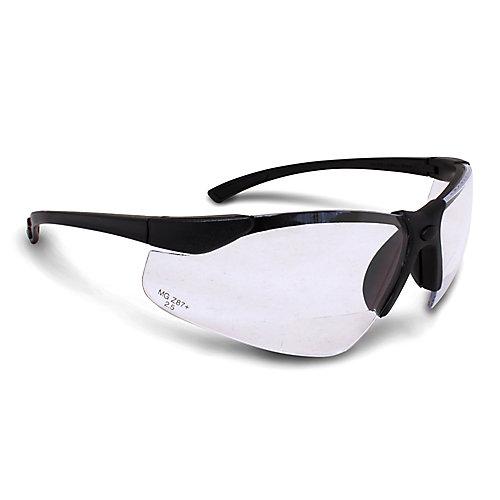 Bi-Focal Safety Glasses 2.5