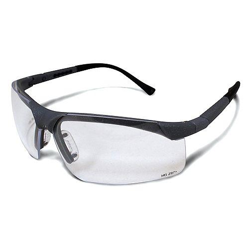 Lunnettes de sécurité, lentille claire anti-buée