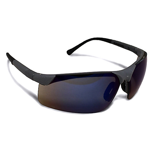 Blue Mirror Safety Glasses