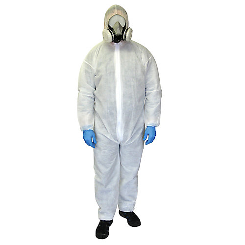 Polypropylene disposable coverall, X-Large