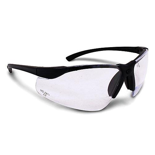 Bi-Focal Clear Lens Safety Glasses 2.0