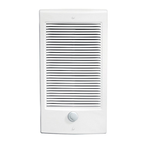 Wall Heater Insert with Thermostat, Small, 2X3, 2000W 240V, White