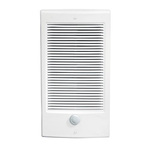 Wall Heater Insert with Thermostat, Small, 2X3, 1000W 240V, White