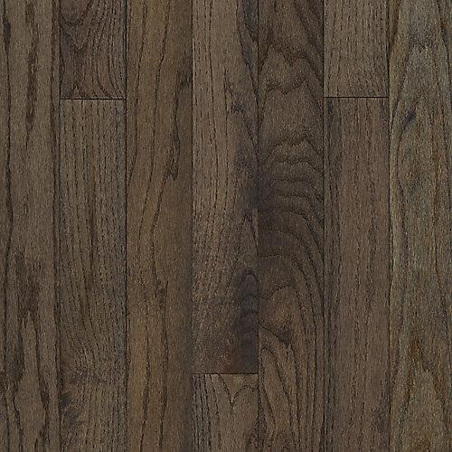 Latte pour plancher 22SF, bois massif, 3/4 po x 3 1/4 po de largeur, Chêne gris