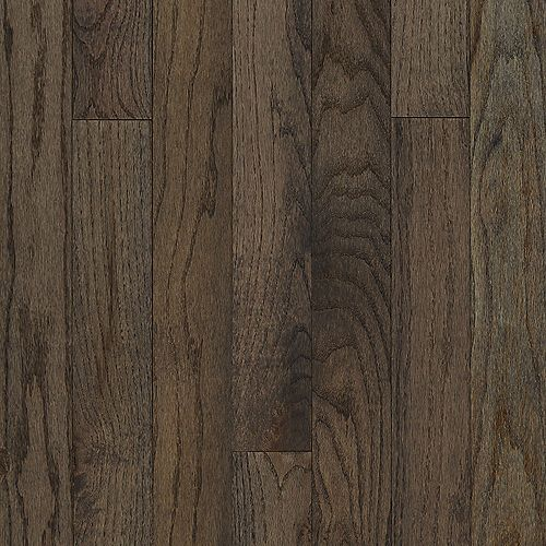 3/4-inch X 3-1/4-inch Oak Gray Solid Hardwood Plank 22SF