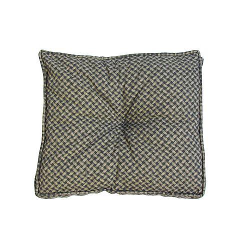 Dots Seat Cushion in Black