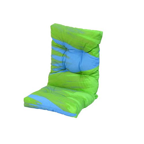 20 x 47 x 4.5 inch High Back Cushion in Multi colour