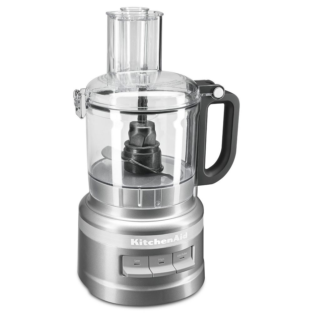 KitchenAid 7 Cup Food Processor in  Countour Silver